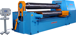 plate bending rolls variable axis plate bending rolls; plate rolls; 3-rolls plate bending rolls; calandra per lamiera; cilindro curvador