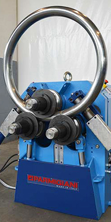 section bending machine for pipes rolling