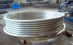 rolling pipes for heat exchanger and boilers